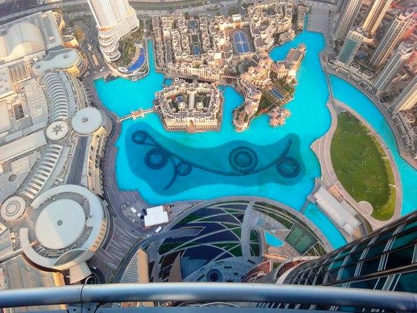 Фонтан Дубай – самый большой фонтан в мире. Фонтан Дубай – самый большой 3