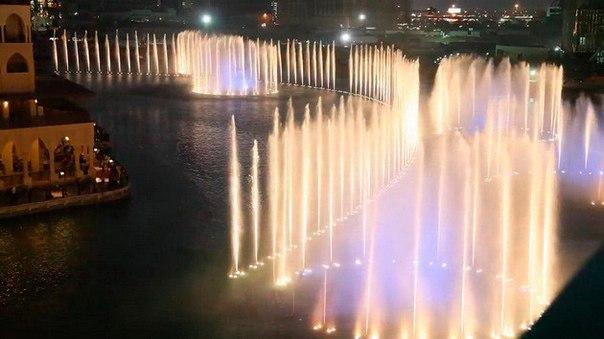 Фонтан Дубай – самый большой фонтан в мире. Фонтан Дубай – самый большой 4