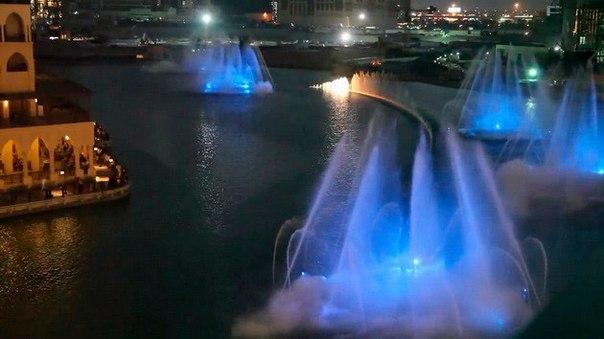 Фонтан Дубай – самый большой фонтан в мире. Фонтан Дубай – самый большой 6