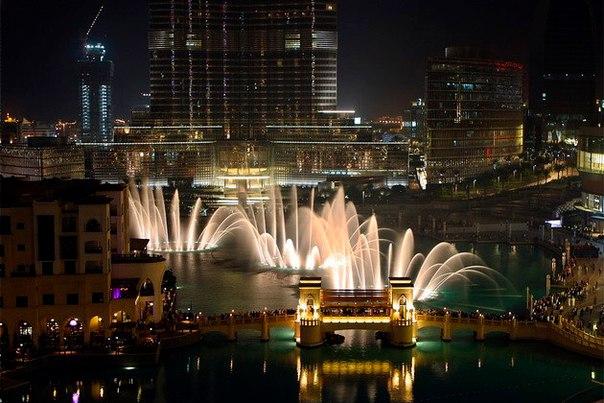 Фонтан Дубай – самый большой фонтан в мире. Фонтан Дубай – самый большой 8