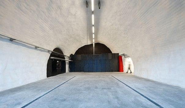 Архитектура и интерьер пожарной части в Италии. Архитектура и интерьер 8