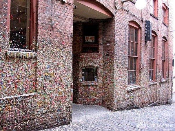 Достопримечательности США: стены жевательных резинок. Достопримечательности США 8