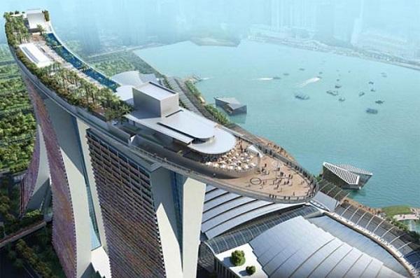 Отель Marina Bay Sands, бассейн под облаками. 16488.jpeg