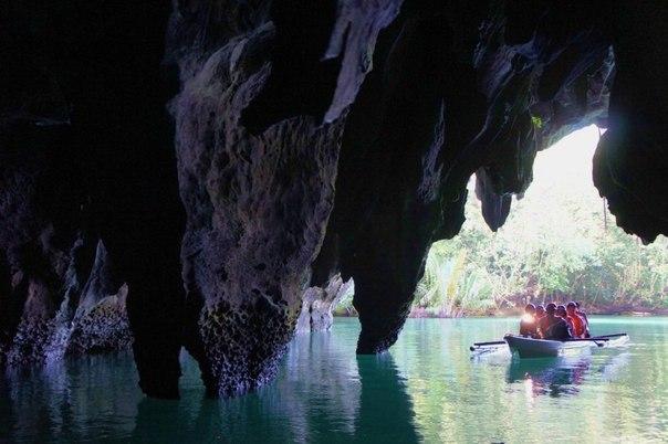 Подземная река Пуэрто-Принсеса (Филиппины). Подземная река Пуэрто-Принсеса 6