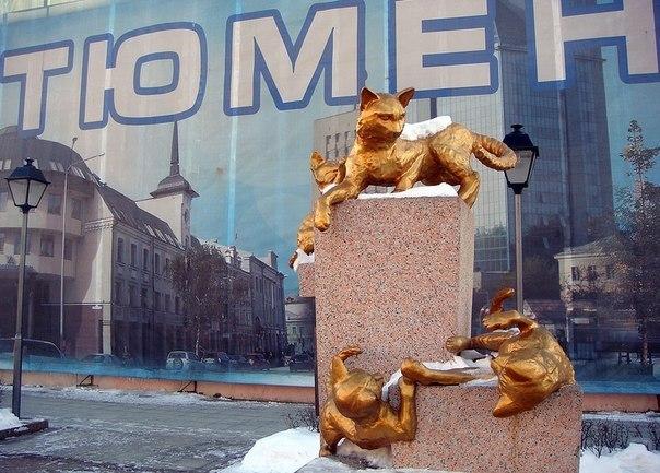 Сквер Сибирских кошек: память о великом подвиге маленьких животных. Сквер Сибирских кошек: память 4