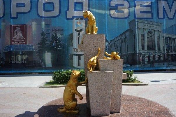 Сквер Сибирских кошек: память о великом подвиге маленьких животных. Сквер Сибирских кошек: память 6