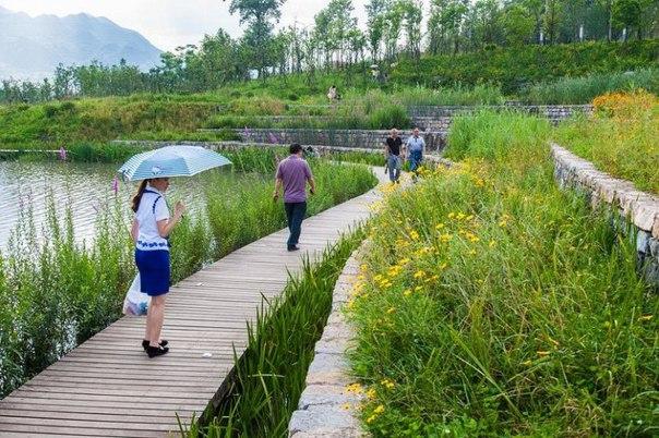 Живописный парк Янвэйчжоу в Китае. Живописный парк Янвэйчжоу в 2