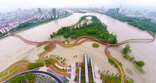 Живописный парк Янвэйчжоу в Китае. Живописный парк Янвэйчжоу в 4