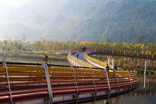 Живописный парк Янвэйчжоу в Китае. Живописный парк Янвэйчжоу в 5