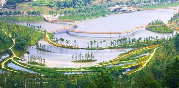Живописный парк Янвэйчжоу в Китае. Живописный парк Янвэйчжоу в 6