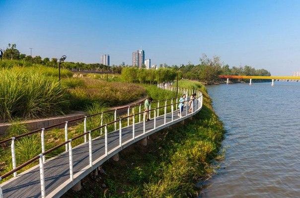 Живописный парк Янвэйчжоу в Китае. Живописный парк Янвэйчжоу в 7