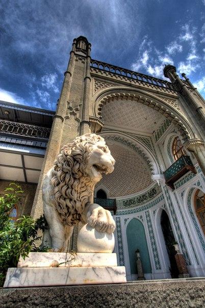 Воронцовский дворец, Алупка, Крым. Воронцовский дворец, Алупка 2