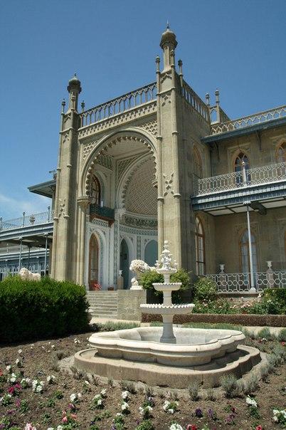 Воронцовский дворец, Алупка, Крым. Воронцовский дворец, Алупка 3