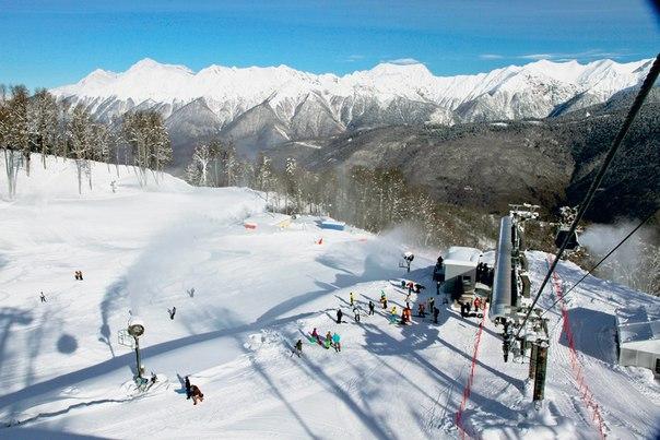 Готовимся к горнолыжному сезону в Сочи. Готовимся к горнолыжному 1