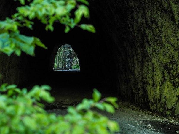 Смертельно опасная и ужасно красивая заброшенная дорога в Сочи. Смертельно опасная и ужасно 6