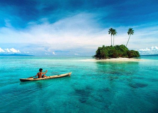 10 островов, нетронутых цивилизацией