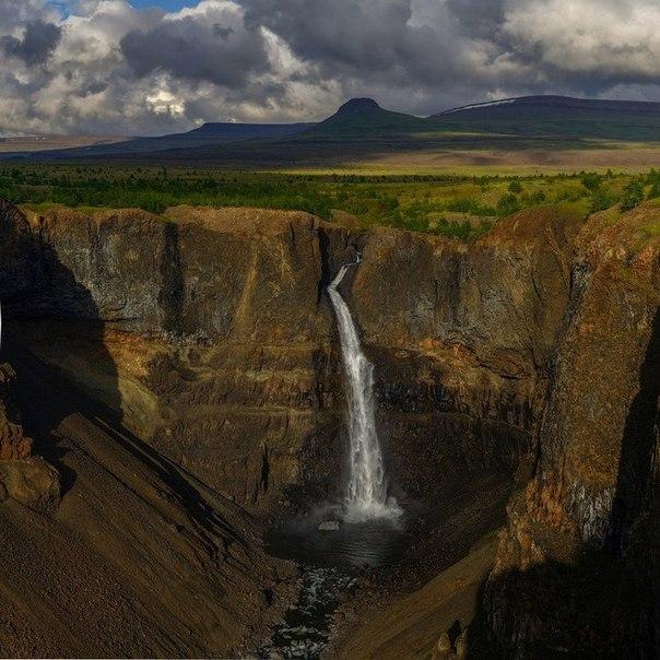 Самый большой водопад в России. Самый большой водопад в России 1
