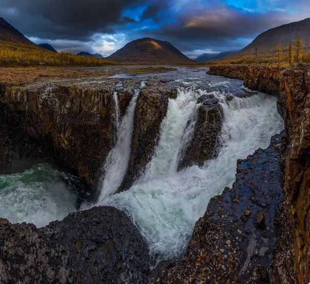 Самый большой водопад в России. Самый большой водопад в России 3