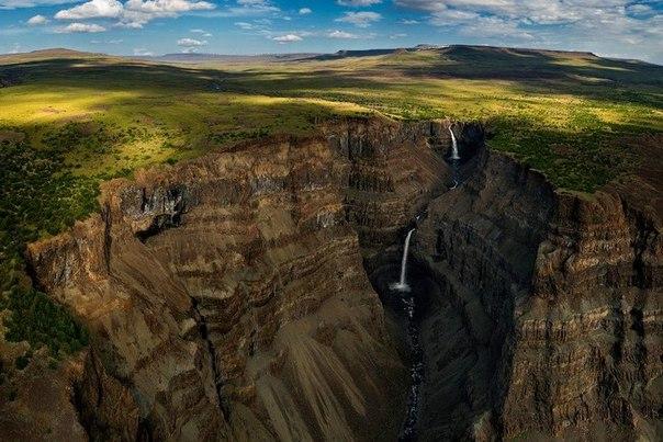 Самый большой водопад в России. Самый большой водопад в России 8