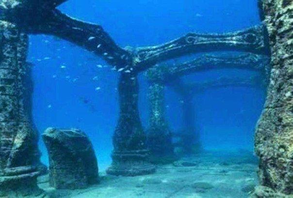 Пять сногшибательных подводных городов!