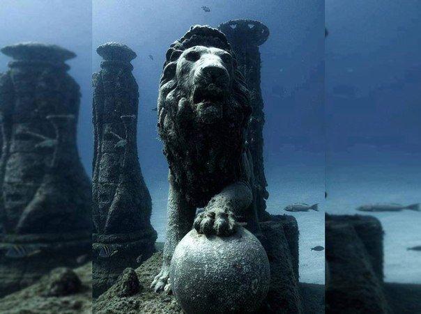 Пять сногшибательных подводных городов!. Пять сногшибательных подводных 4