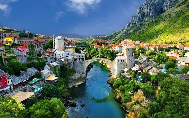 Мостар - город Старого моста