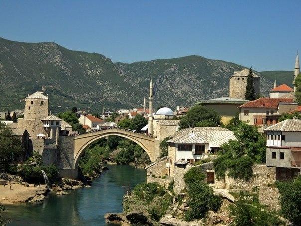 Мостар - город Старого моста. Мостар - город Старого моста 3