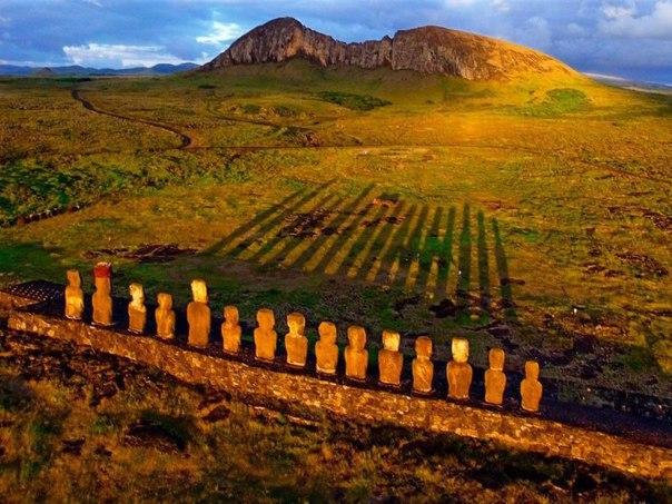 Статуи Моаи на острове Пасхи. Статуи Моаи на острове Пасхи 1