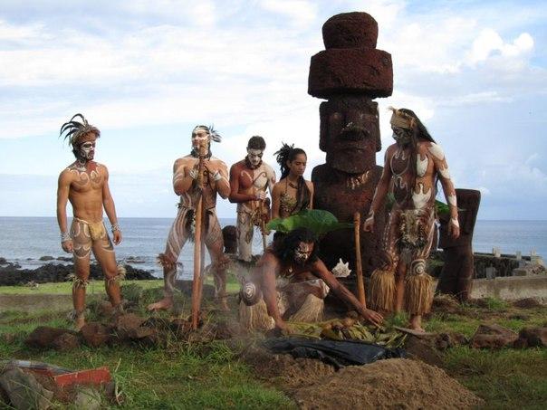 Статуи Моаи на острове Пасхи. Статуи Моаи на острове Пасхи 2