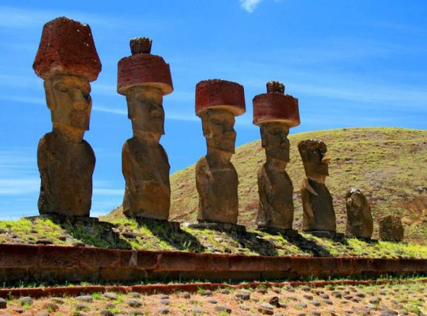 Статуи Моаи на острове Пасхи. Статуи Моаи на острове Пасхи 5