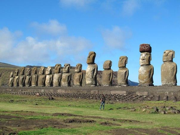 Статуи Моаи на острове Пасхи. Статуи Моаи на острове Пасхи 7