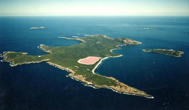 Розовое озеро. Розовое озеро. 2