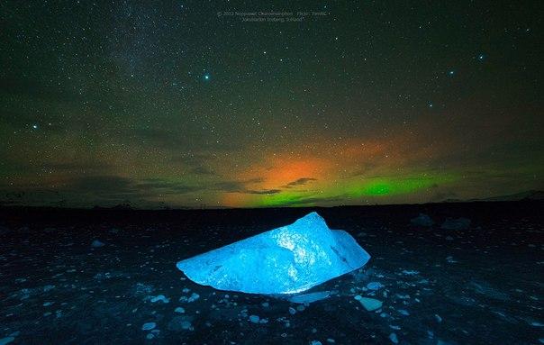Ледниковое озеро Йокульсарлон в Исландии. Ледниковое озеро Йокульсарлон 4