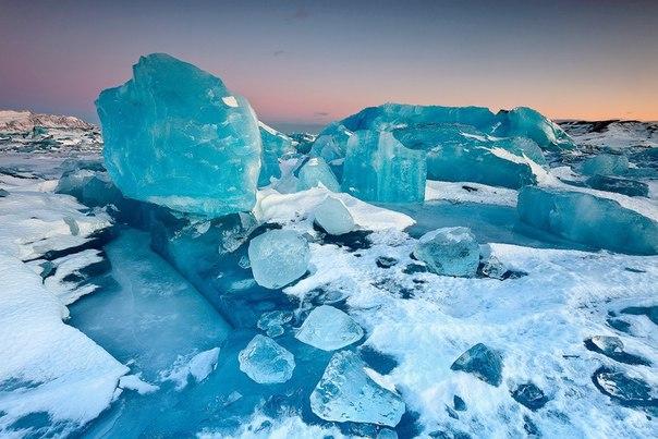 Ледниковое озеро Йокульсарлон в Исландии. Ледниковое озеро Йокульсарлон 7