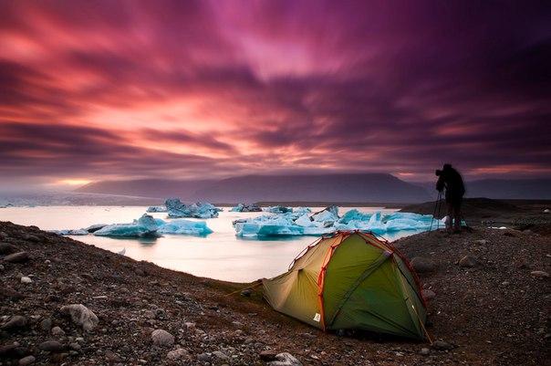 Ледниковое озеро Йокульсарлон в Исландии. Ледниковое озеро Йокульсарлон 9