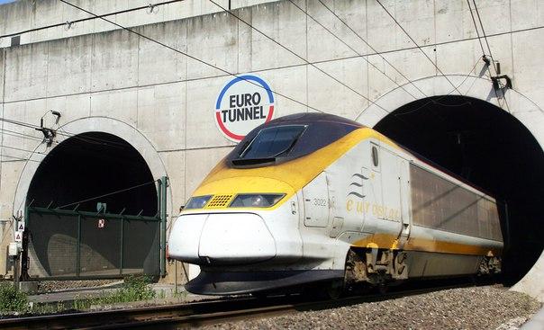 Десять фактов о тоннеле под проливом Ла-Манш