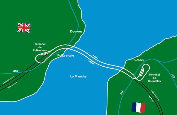 Десять фактов о тоннеле под проливом Ла-Манш. Десять фактов о тоннеле под 5