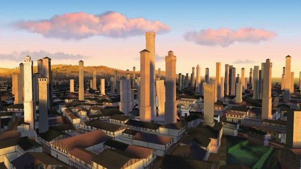 Средневековые башни Болоньи. Средневековые башни Болоньи 6