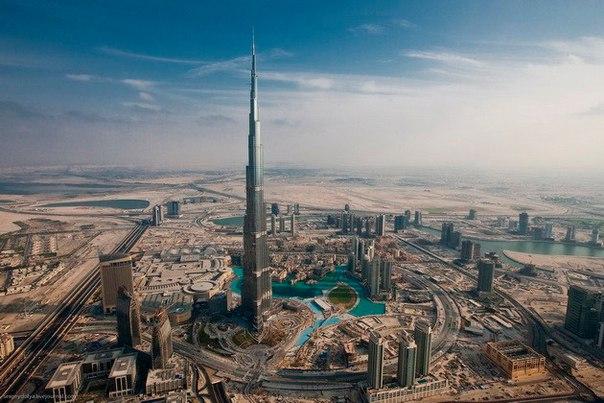 Бурдж Халифа – самый высокий небоскреб в мире. Бурдж Халифа – самый высокий 1