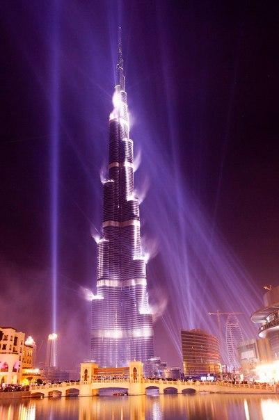 Бурдж Халифа – самый высокий небоскреб в мире. Бурдж Халифа – самый высокий 4