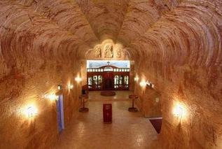 Кубер Педи - подземный город в Австралии