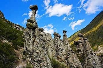 Каменные грибы в Урочище Аккурум
