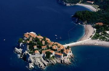 Остров-отель Святой Стефан, Черногория